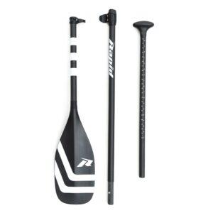 Весла для SUP Rapid Y-blade Full carbon 3-piece